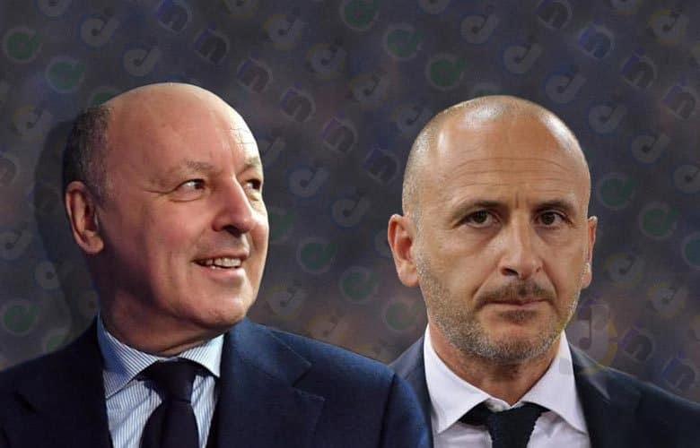 """Marotta, stoccata alla Juve: """"Un piacere veder segnare Godin"""