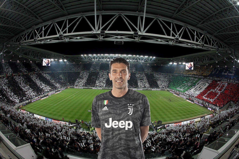 Juventus Udinese formazioni ufficiali, Buffon dal 1': dentro
